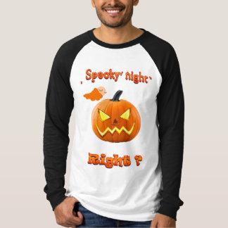 Langer die Hülsen-T - Shirt der Männer, Halloween