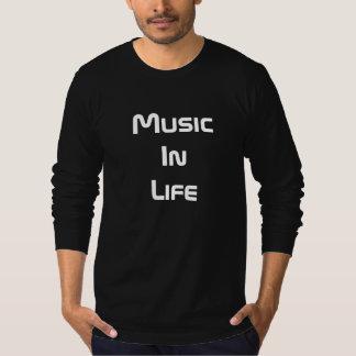 Langer die Hülsen-T - Shirt der Männer - Musik im