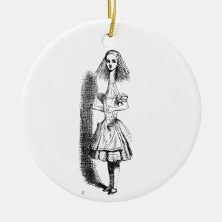 Langer Hals Alice Keramik Ornament