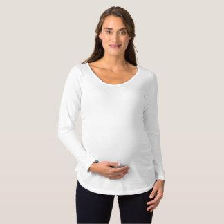 Langer Hülsen-MutterschaftsT - Shirt