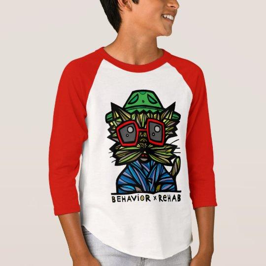 "Langer Raglan ""der Verhalten-Rehabilitations-"" T-Shirt"