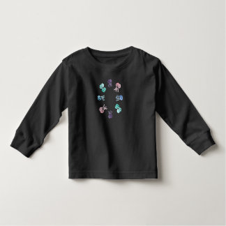 Langer T - Shirt Hülse des Kleinkindes mit Quallen