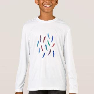 Langer T - Shirt Hülse des Sports der Kinder mit