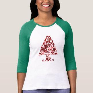 Langes die Hülsen-T-Shirt der fröhlichen T-Shirt