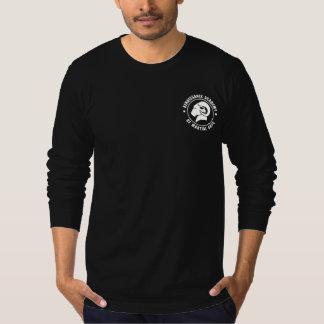 Langes Hülsen-T-Stück athletisches T-Shirt
