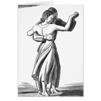 Langsame Tanzen-Paare Karte