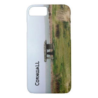 Lanyon Quoit-stehende Steine Cornwall England iPhone 8/7 Hülle
