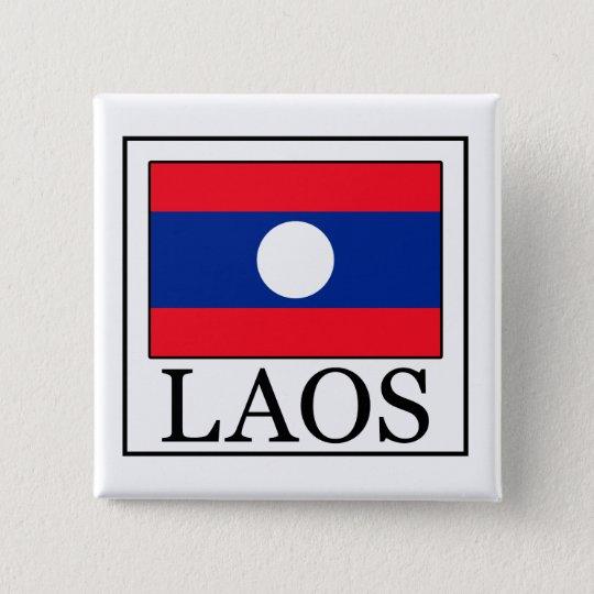 Laos-Knopf Quadratischer Button 5,1 Cm