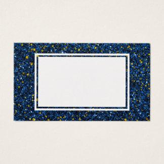 Lapis Blau und GoldGlitter-Raum-Geschäfts-Karte Visitenkarte