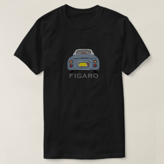Lapis grauer Nissan Figaro Auto-Cartoon T-Shirt
