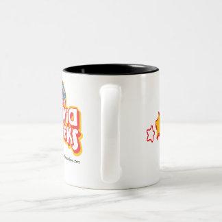 Lappalien-Aussenseiter-Waren Zweifarbige Tasse