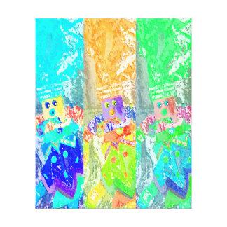Lappenpop Flickenpuppe Gespannte Galerie Drucke