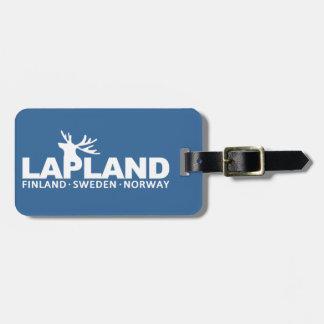 LAPPLAND-Gewohnheits-Gepäckanhänger Koffer Anhänger