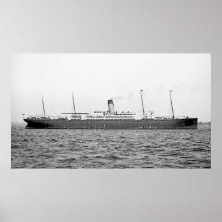 L'arabe II de RMS Poster