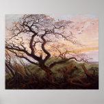 L'arbre des corneilles, 1822 affiche