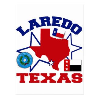 Laredo, Texas Postkarte