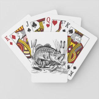 Largemouth Bass Spielkarten
