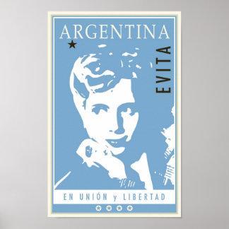 l'Argentine Affiche