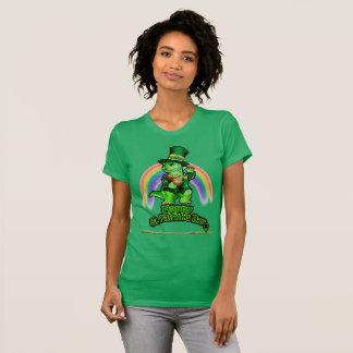 Larry die Eidechse: Ein Kobold im Trainings-T - T-Shirt