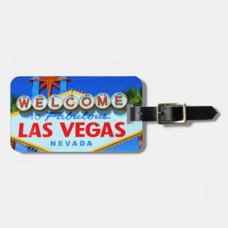Las Vegas fertigte Gepäckanhänger besonders an