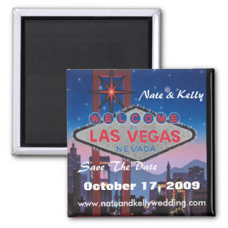 Las Vegas grande Nate et Kelly font gagner la da Aimants