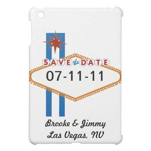 Las Vegas Save the Date iPad Mini Hüllen
