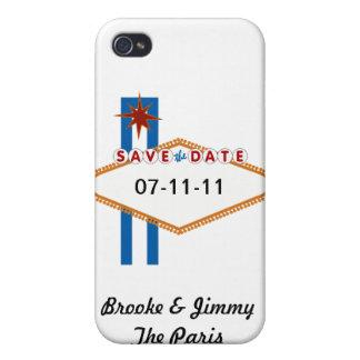 Las Vegas Save the Date iPhone 4 Etui