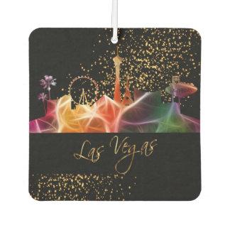 Las Vegas-Skyline in den psychedelischen Farben Lufterfrischer