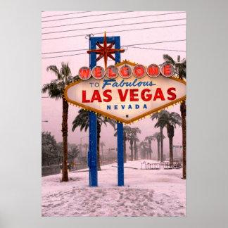 Las Vegas-Weihnachten Poster