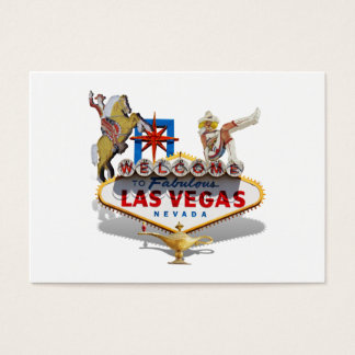 Las Vegas-Willkommensschild Visitenkarte