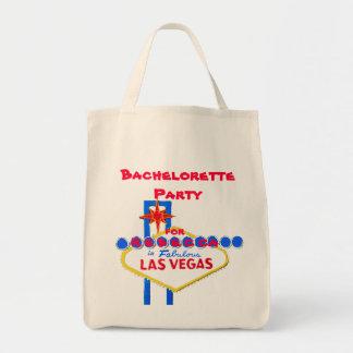 Las- VegasJunggeselinnen-Abschied personalisiert Tragetasche