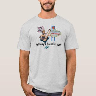 Las- Vegasjunggeselle-Party T-Shirt