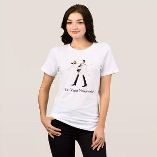 Las- Vegasjungvermählten-(Braut u. Bräutigam) T-Shirt
