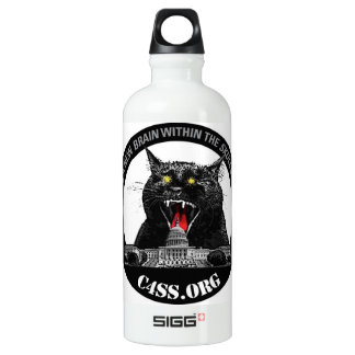 Laser-Katze für C4SS Herrschaft der Hydratation Aluminiumwasserflasche