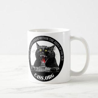 Laser-Katze von C4SS Herrschaft Kaffeetasse