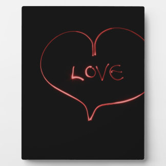 Laser-Liebe Fotoplatte