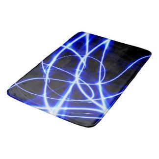 Laser-Strahlen Badematte