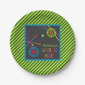 Laser-Umbau-Party-Geburtstags-Teller Pappteller