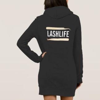LASHLIFE Kapuzenpulli Kleid