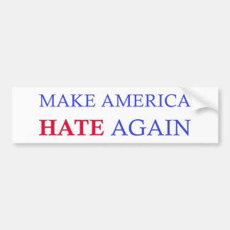 Lassen Sie Amerika wieder hassen Autoaufkleber