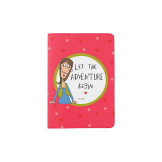 Lassen Sie das Abenteuer anfangen Passhülle