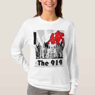 Lassen Sie den 919 FM das WeißHoodie laufen T-Shirt