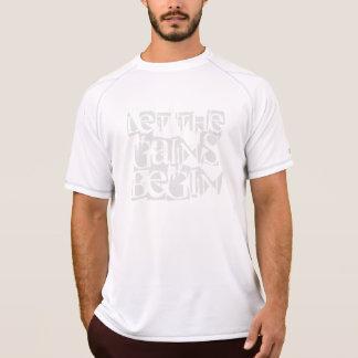 Lassen Sie die Gewinne der Meister-trockenes T-Shirt