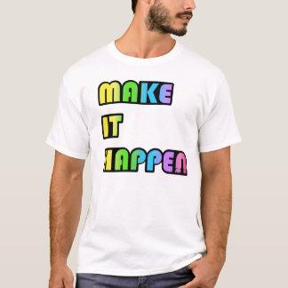 Lassen Sie es einfach geschehen T-Stück Verein DJ T-Shirt