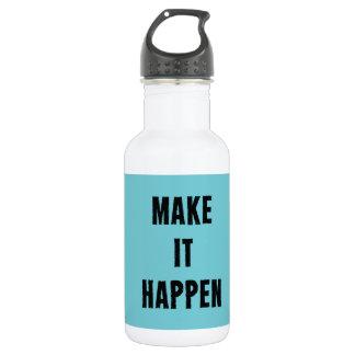 Lassen Sie es geschehen inspirierend Trinkflasche