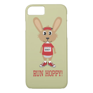 Lassen Sie hopfenreiches laufen! Kaninchen-Läufer iPhone 8/7 Hülle