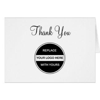 Lassen Sie Ihr eigenes Geschäft Yous danken Mitteilungskarte