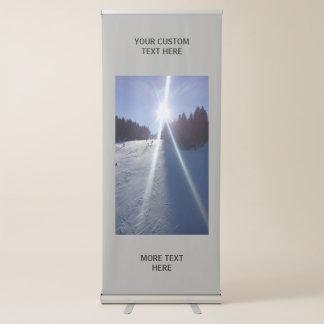 Lassen Sie Ihr eigenes kundenspezifisches Ausziehbarer Banner