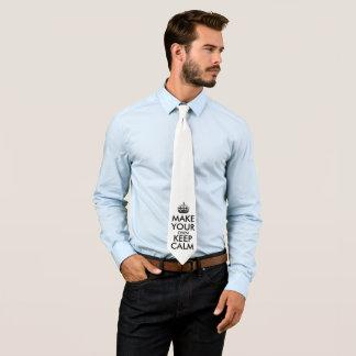 Lassen Sie Ihre Selbst Ruhe behalten Krawatte