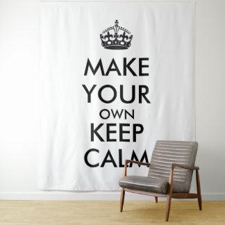 Lassen Sie Ihre Selbst Ruhe behalten Wandteppich